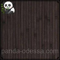 """Бамбуковые обои """"Венге"""", 1,5 м, ширина планки 8 мм / Бамбукові шпалери"""