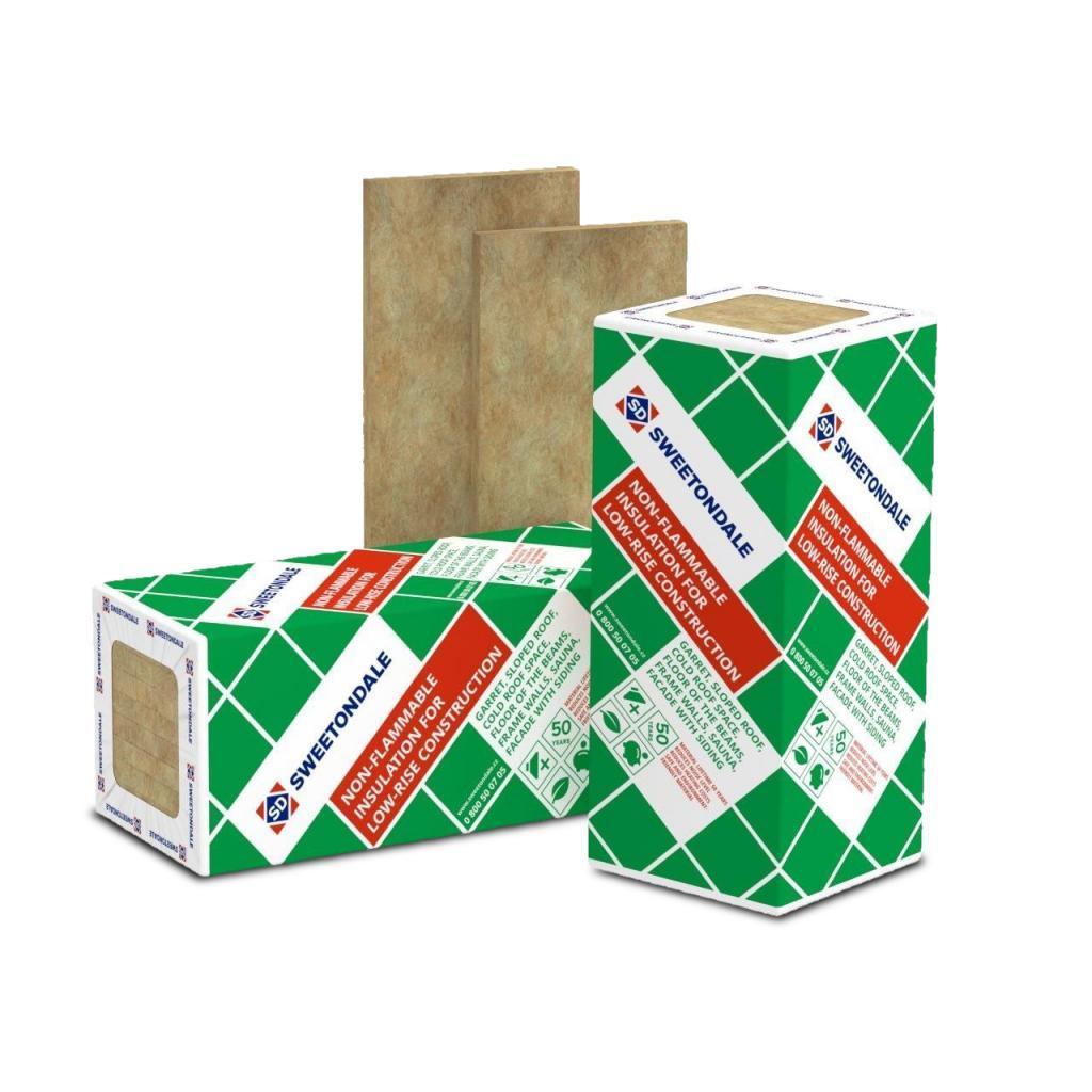 РОКЛАЙТ 100 мм Утеплитель ТехноНиколь (Sweetondale) для скатной кровли и полов по лагам