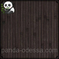 """Бамбуковые обои """"Венге"""", 2 м, ширина планки 8 мм / Бамбукові шпалери"""