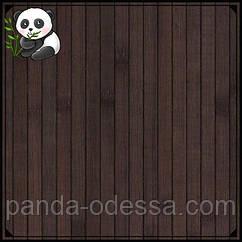 """Бамбуковые обои """"Венге"""", 1,5 м, ширина планки 12 мм / Бамбукові шпалери"""