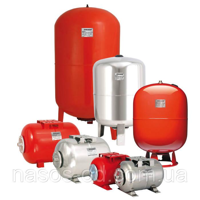 Гидроаккумулятор для системы водоснабжения Насосы плюс оборудование NVT100