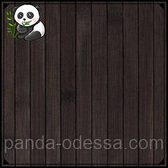 """Бамбуковые обои """"Венге"""", 1,5 м, ширина планки 17 мм / Бамбукові шпалери"""