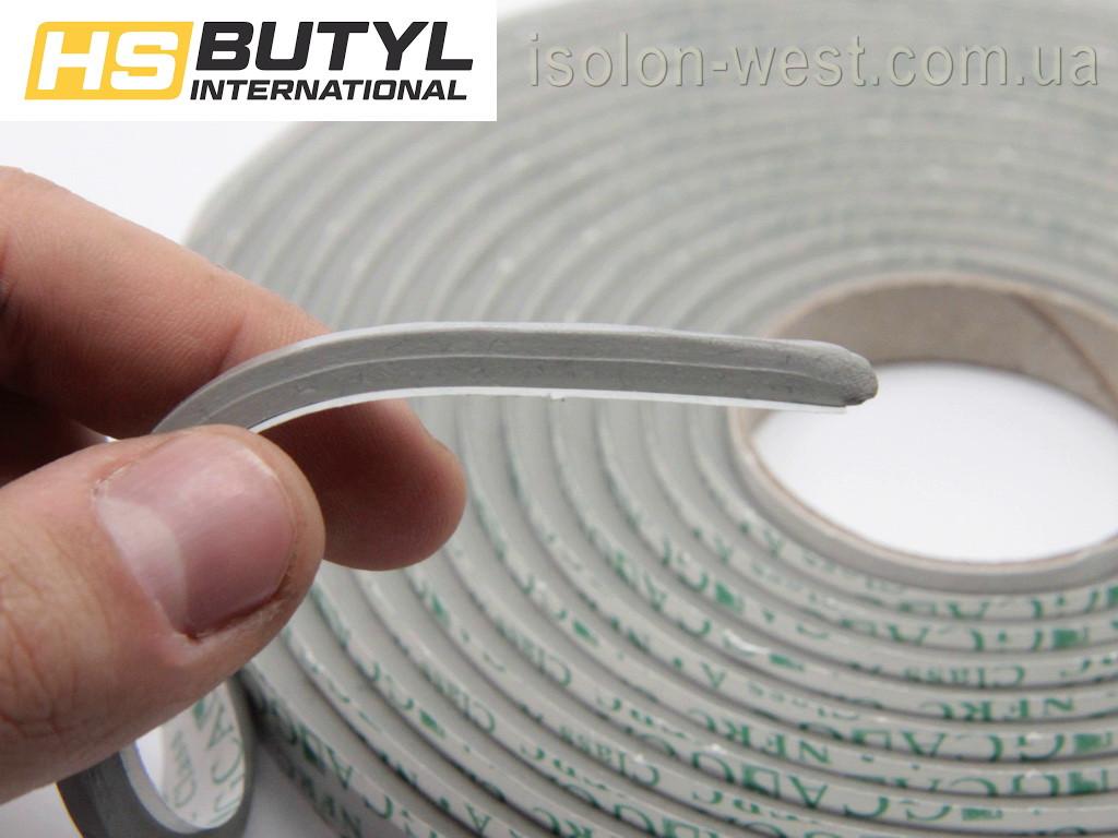 Автомобильный герметик для фар HS butyl ( 5х6 мм ),  рулон 3.2 метра