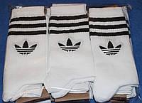 Носки мужские в стиле Adidas 42-45 размер,белые. 12 пар.