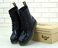 """Женские демисезонные кожаные ботинки Dr. Martens """"Черные"""" 37"""