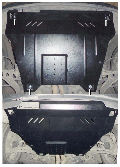 Защита двигателя и кпп  радиатора Ford Explorer EcoBoost 2012-