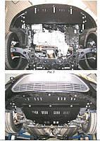 Защита двигателя и кпп  радиатора  Ford Focus II 2004-2011  бензин