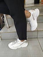 Подростковые кожаные кроссовки для девочки Teens, фото 1