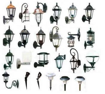 Светильники садово-парковые и фасадные