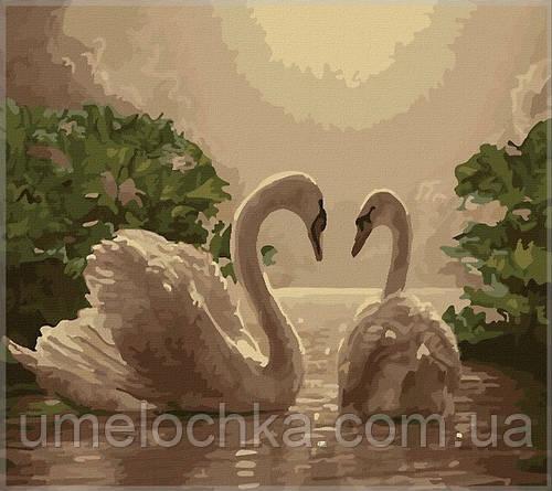 Картина по номерам Идейка Любовь (KH301) 40 х 50 см
