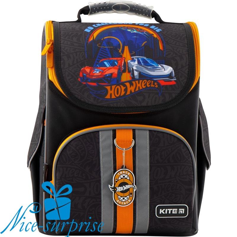 440ab5dd31a0 Школьный рюкзак для мальчика Kite Hot Wheels HW19-501S-2 (1-4 класс ...