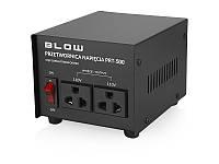 Преобразователь напряжения BLOW  c 220V на 110V,500W