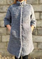 Пальто из меха нутрии