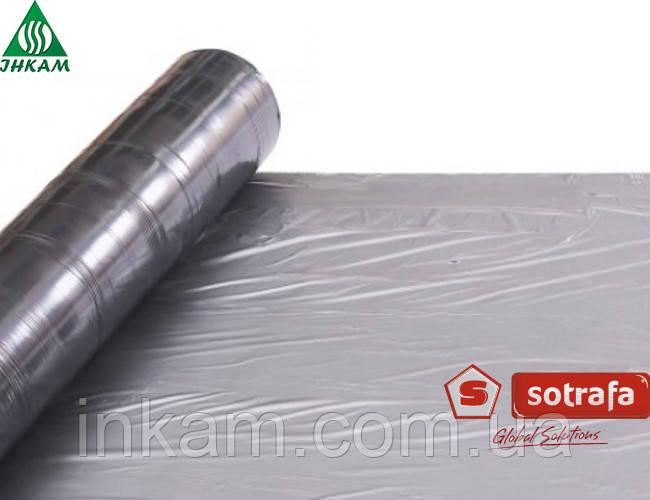 Пленка мульчирующая серебристо-черная Sotrafa (Испания) 25 микрон 1,2х1000 м