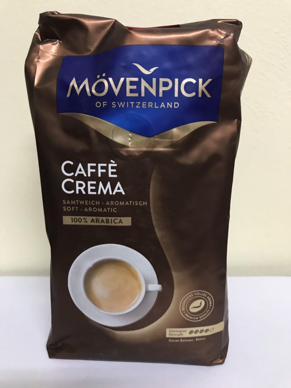 Кава в зернах Movenpick Caffe Crema 500 грамів