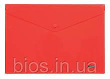 Папка з кнопкою прозора В5 5018 NORMA