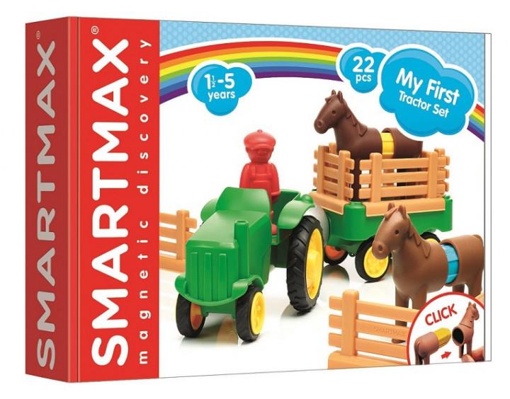 """Магнитный конструктор SmartMax """"Мой первый трактор"""" (SMX 222)"""