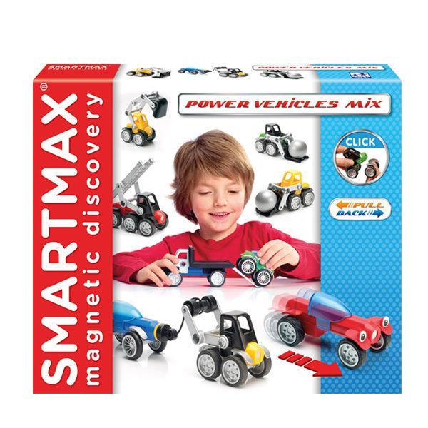 """Магнитный конструктор SmartMax """"Мощные машины (микс)"""" (SMX 303)"""