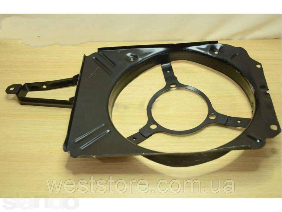 Диффузор радиатора вентилятора Ваз 2103-2106 голый (металл)