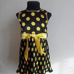 Літнє плаття в горошок для маленької дівчинки