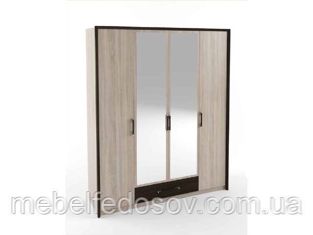 Шкаф четырехдверный Скарлет  (Сокме)