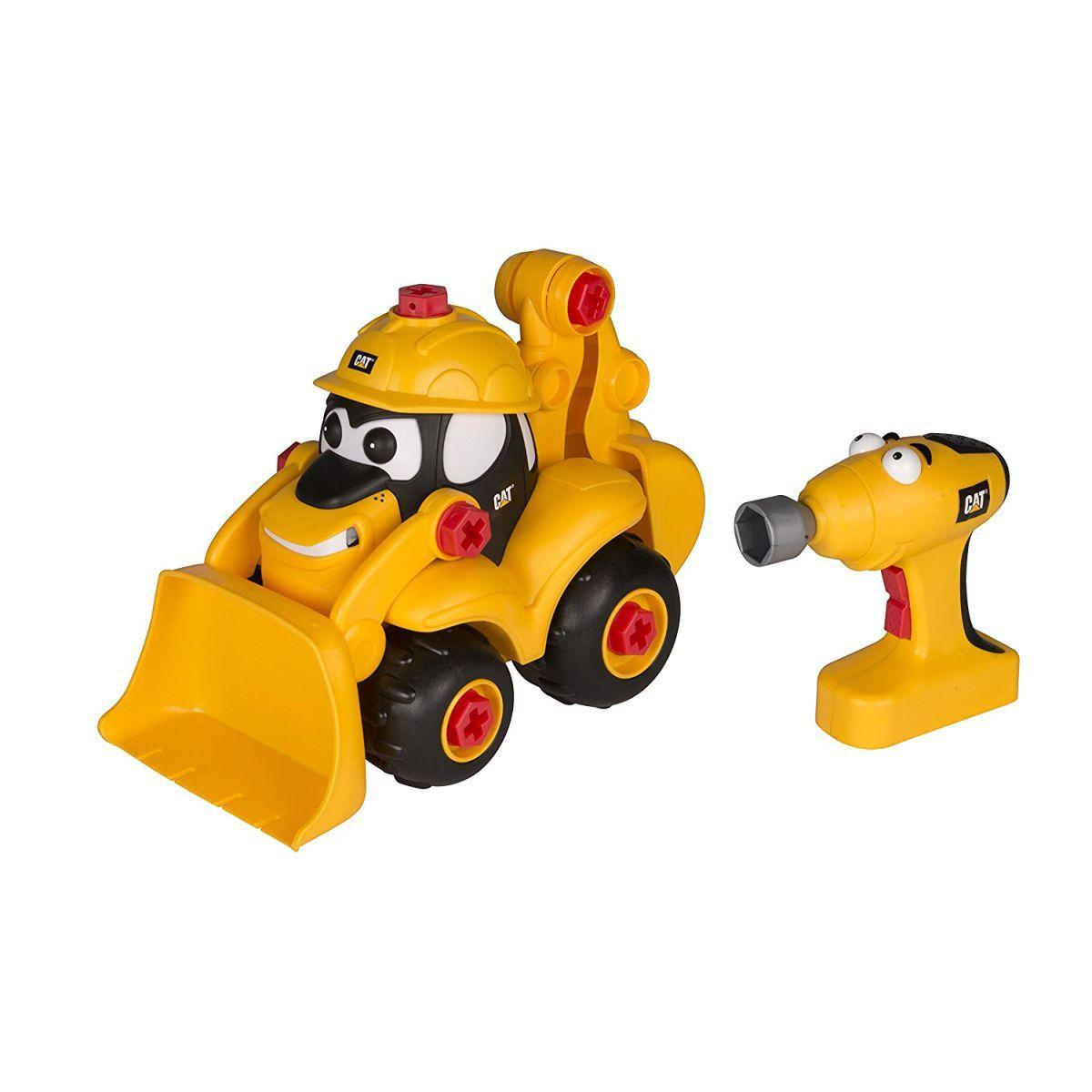 Конструктор Toy State Экскаватор Морган с отверткой 24 см (80477)