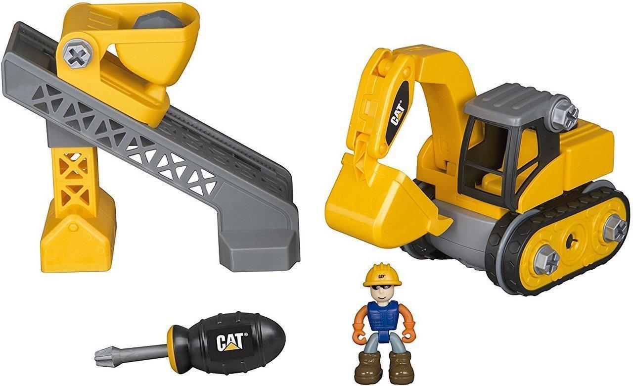 Игровой набор-конструктор Toy State Machine Maker Экскаватор и Подъемник-конвейер (80913)