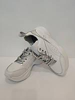 Детские кожаные кроссовки для девочки Teens, фото 1