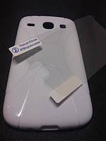 Комплект чехол и пленка для Samsung Galaxy Core i8262 i8260 белый