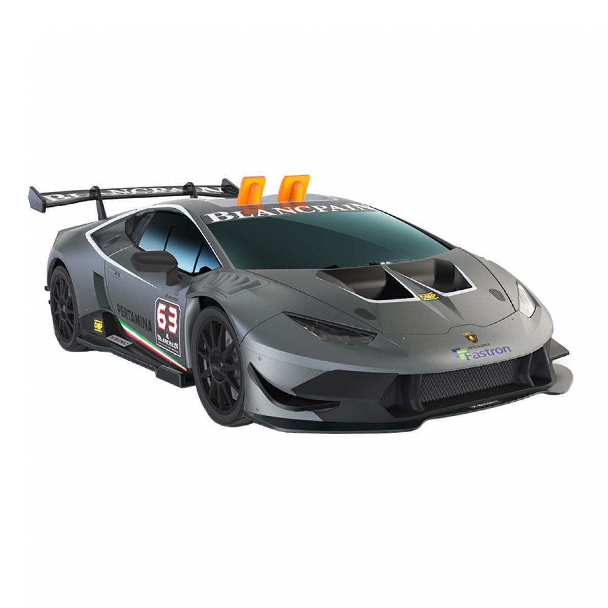 Машинка Toy State Lamborghini Huracan LP 620-2 Super Trofeo со светом, звуком и вибрацией 26 см (21723)