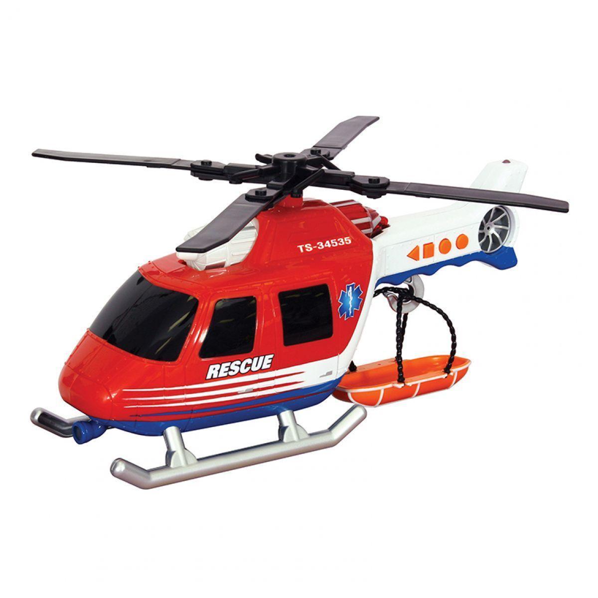 Вертолет Toy State Спасательная техника со светом и звуком 30 см (34565)