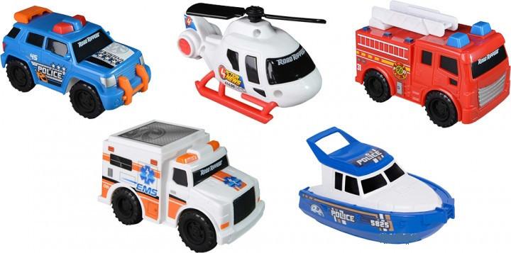 Набор мини машинок Toy State Городская служба спасения 5 шт (41405)