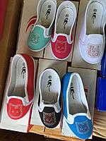 Текстильная детская обувь для девочек Размеры 25,26,27