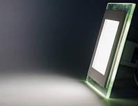 Встраиваемый квадратный Даунлайт (Downlight) 12W glass, фото 1