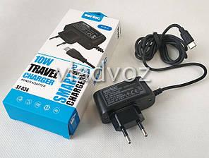 Сетевое зарядное устройство зарядка для смартфона телефона USB Type-C 2,1A 5V 10W Sertec, фото 2
