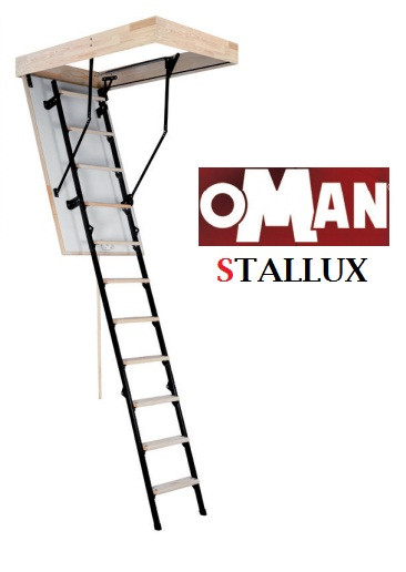 Горищні сходи Оман Stallux Termo