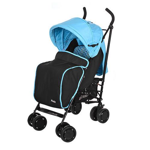 Прогулочная коляска-трость El Camino PICNIC M 3419-12, голубая