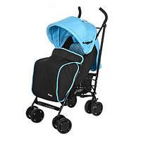 Прогулочная коляска-трость El Camino PICNIC M 3419-12, голубая, фото 1