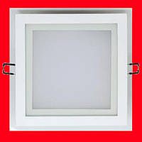 Встраиваемый квадратный Даунлайт (Downlight) 25W glass, фото 1