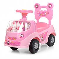 Детская каталка-толокар Bambi 238-HK, розовая