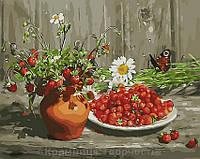 Картина по номерам Ягодный натюрморт, 40х50 (GX9427)