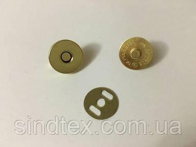 Сумочный магнит (застежка) № 14 G