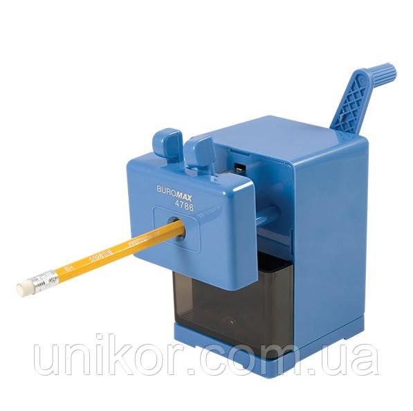 Точилка механическая на струбцине. BuroMax