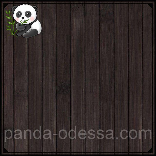 """Бамбуковые обои """"Венге"""", 2.5 м, ширина планки 17 мм / Бамбукові шпалери"""
