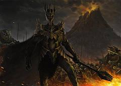 Картина GeekLand The Lord of the Rings Властелин колец саурон 60х40см LR 09.004