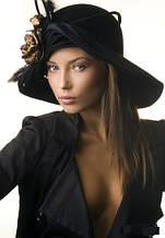 Шляпы из фетра и кожи