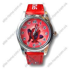 """Дитячі наручні годинники """"Spiderman"""" в подарунковій упаковці (червоний ремінець, 2вида), фото 3"""