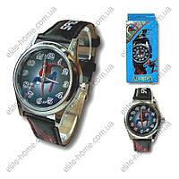 """Детские наручные часы """"Spiderman"""" в подарочной упаковке (черный ремешок)"""