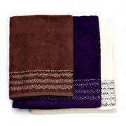 Набор махровых полотенец Marca Marco Stratum 3 шт 70x140
