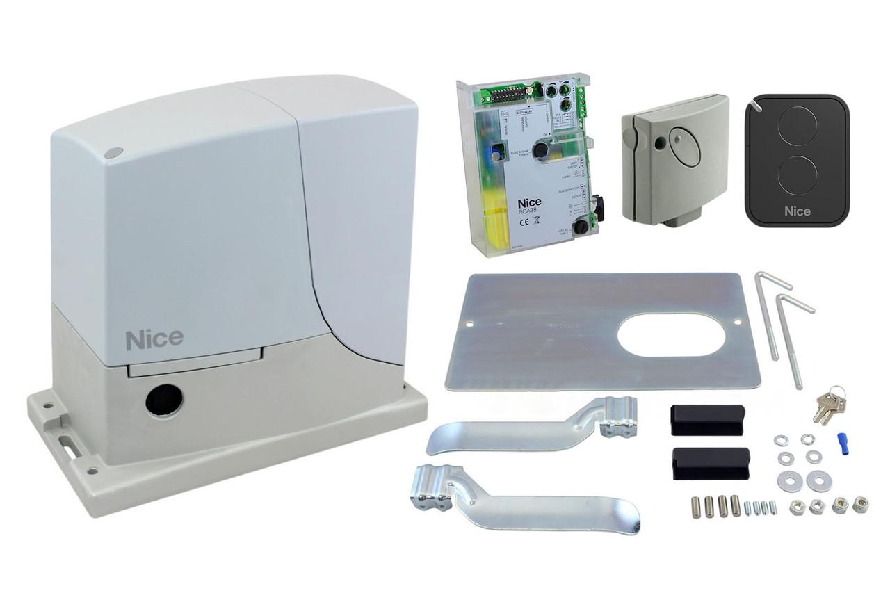 NICE ROX600 KLT — автоматика для откатных ворот (створка до 600 кг)